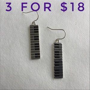 Piano Keyboard EarringsBoutique for sale